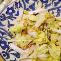 我が家のヘビロテ『白菜とハムと塩昆布生姜炒め』、手作りピザ体験パーティー☆彡 by Yoshikoさん