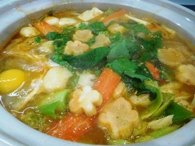 Flu ショット ~ マグロの韓国風味噌鍋