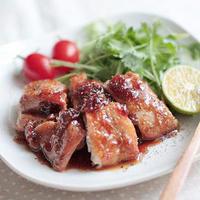 梅&ビネガー風味☆照り焼きチキン