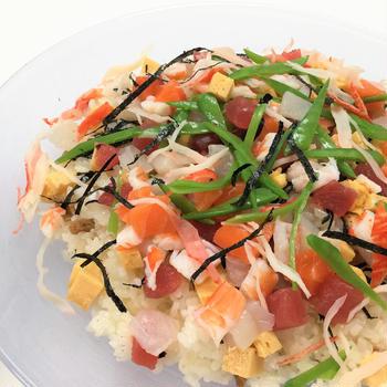 お雛祭りに~海鮮ちらし寿司