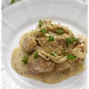 チキンとマッシュルームの粒マスタードクリーム煮|パーティー料理にもオススメ!|スパイス大使