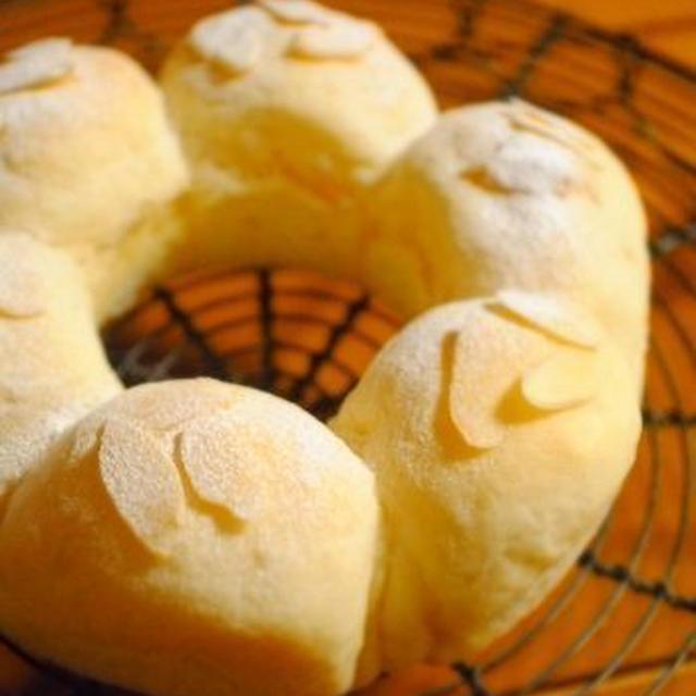 ホワイトチョコ*エンジェルリングパン