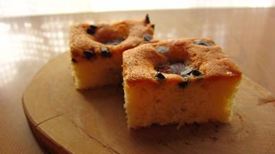 栗の渋皮煮のケーキ