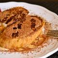【ティラミス フレンチトースト】朝から美味しいプチ贅沢〜!バレンタインブランチにもいかが?