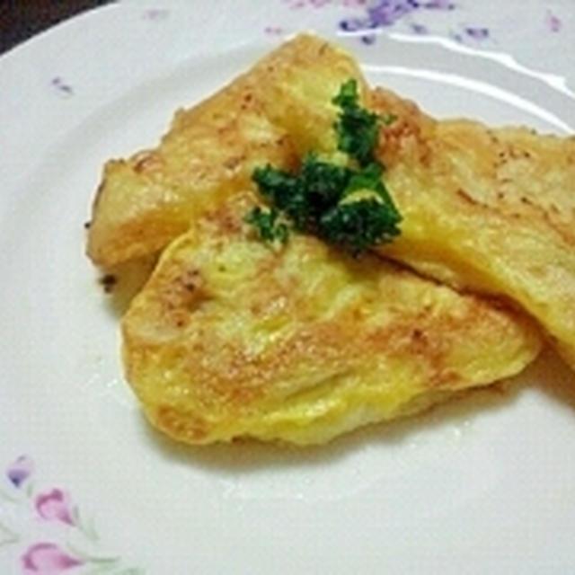 簡単においしい☆ふんわりタラの塩麹ピカタ