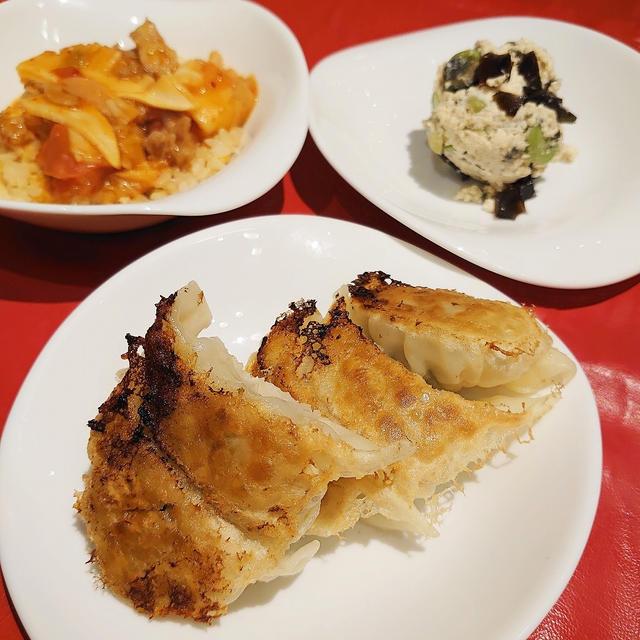 美虎 五十嵐シェフの料理教室 おさらい餃子とそらまめピータン豆腐
