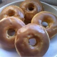モカチョコの焼きドーナツ
