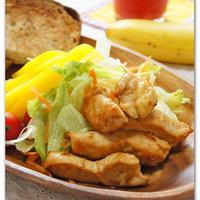 鶏むね肉のしょうが焼き  【滋養強壮・疲労回復・消化促進】