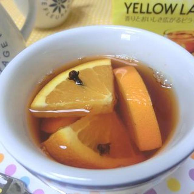 クローブとオレンジの香りに癒される♪ オレンジホットティー
