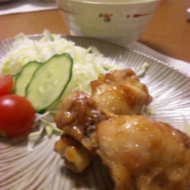 鶏肉の生姜焼き☆自作