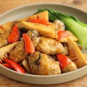 【簡単炒め物レシピ】牡蠣とたけのこのオイスター炒め