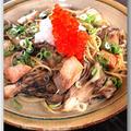 メシ通『魚介を使った簡単レシピ』 ☆ 秋鮭とイクラで秋色の親子パスタ!