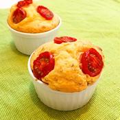 トマトとオレガノのベジマフィン(卵バター不使用)