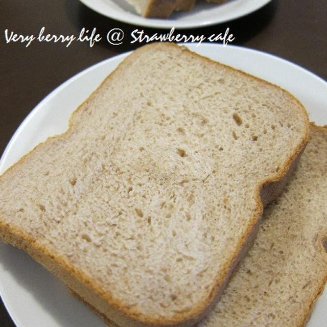 優しい甘さ♪ぜんさい食パン。