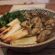 雪の神秘/【recipe】牡蠣蕎麦