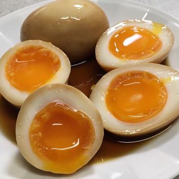 とろっとろ!!煮卵をプロが直伝!卵料理は皆大好き!時短ゆでたまご剥き方 煮玉子