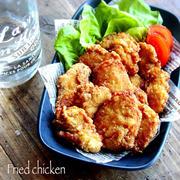 ♡揚げずに簡単♡鶏むね肉deフライドチキン♡【#クリスマス#お弁当#からあげ】