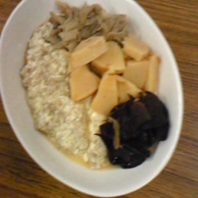 和え衣、改め、豆腐粥(笑)