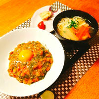 納豆丼arrange