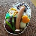 お弁当(ハンバーグ・チリソース)