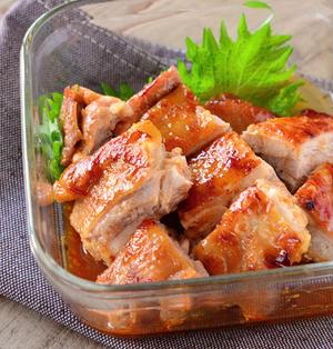 ピリ辛味噌のチキン照り焼き