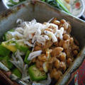 オクラ&シラス納豆