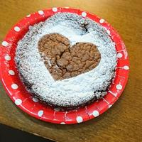 シナモンガトーショコラでハッピーバレンタイン