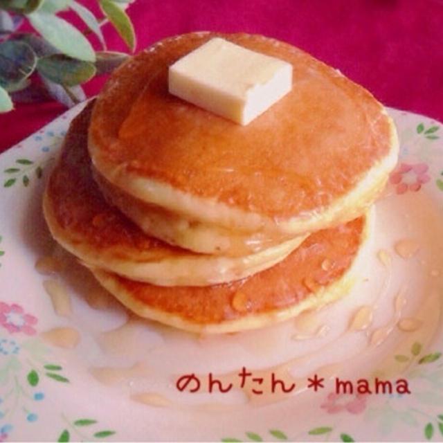 昔ながらのパンケーキ【工程写真あり】
