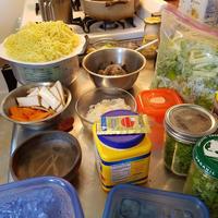 人と作る飯はうまい:中華の宴