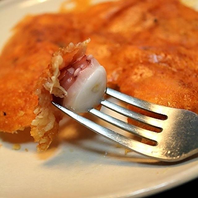 蛸のチーズ煎餅