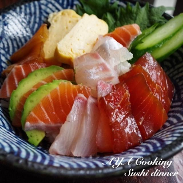 また手作り始めちゃった(^^;;♡卵醤油漬け、海鮮丼