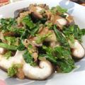 出汁不要なのにしみじみ美味しい♪ 椎茸と菜の花の煎り酒風煮びたし