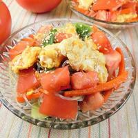 簡単!お総菜屋さん風のトマトと春雨の野菜たっぷり中華サラダ