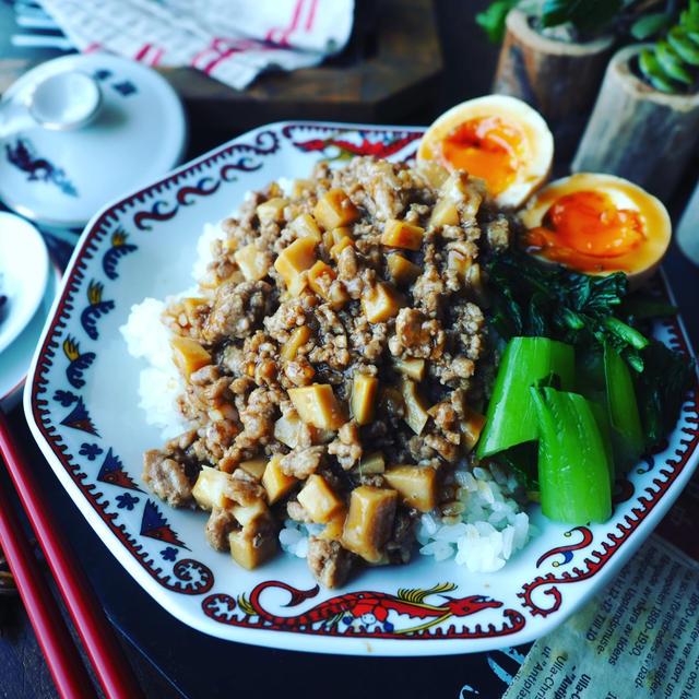 竹の子レシピ色々~❤️と、おかわりがとまらない♪ひき肉で魯肉飯風❤️