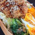 メンチカツ弁当と巻き寿司弁当