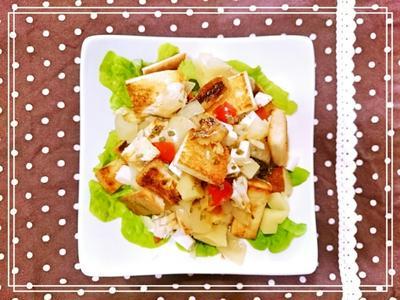 【スパイス大使♥チャイブ:1皿完結ブランチごちそうサラダ】