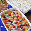市販のアイスにちょい足しで華やかフルーツたっぷりアイス!