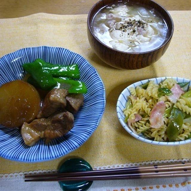 豚バラと大根のじんわり生姜煮
