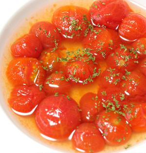 ひんやり冷たい♪ミニトマトの白だし漬け ~mizkan プロが使う白だし~