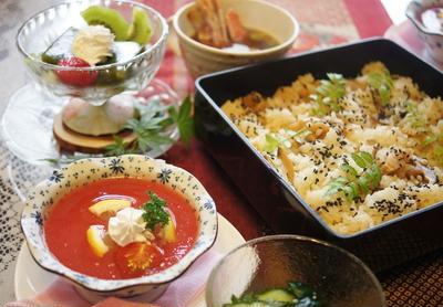 【おもてなしランチ続②】【サラダモニターで「美味しい!賞」をGet^^】
