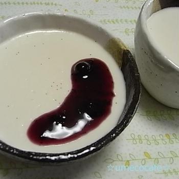 バニラミルクプリン