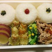 今日のお弁当 第1307号 ~豚肉のオイマヨ炒め~