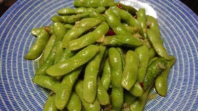 野郎飯流・アーリオオーリオペペロン枝豆