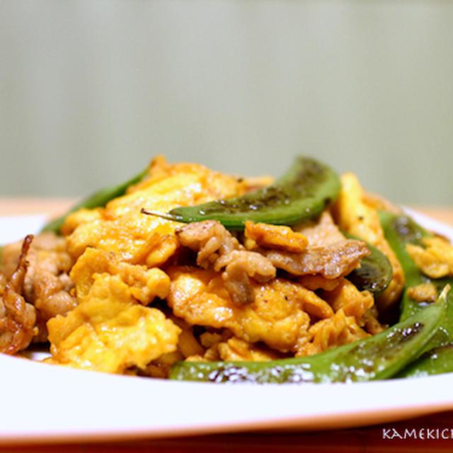 食感最高!!「インゲンと豚肉の卵炒め」&「白葱のおかか煮」