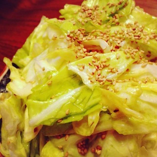 美味春キャベツ!簡単サラダでまるまる1個を喰らうべし(^^)  &【ダイエットなお噺】
