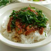 《レシピ有》大葉香る☆うなぎご飯、スイミングレッスン、島根のお土産。