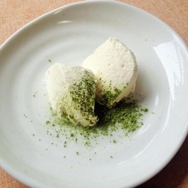 試作品)豆腐のレアチーズケーキ