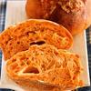 自家製酵母でトマトとチーズのパン