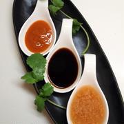 海南鶏飯と3色ソースレシピ