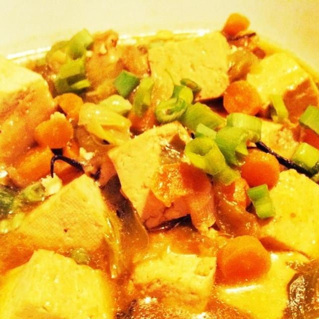 野菜のうまみの麻婆豆腐♪